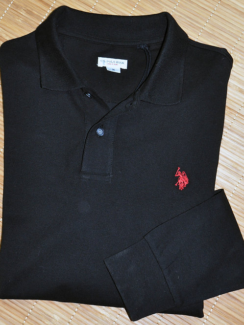 Institutional Polo ML maille piquée