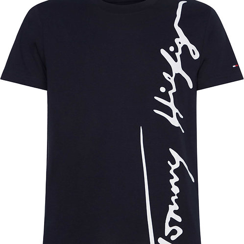 T Shirt signature Tommy MW 14303