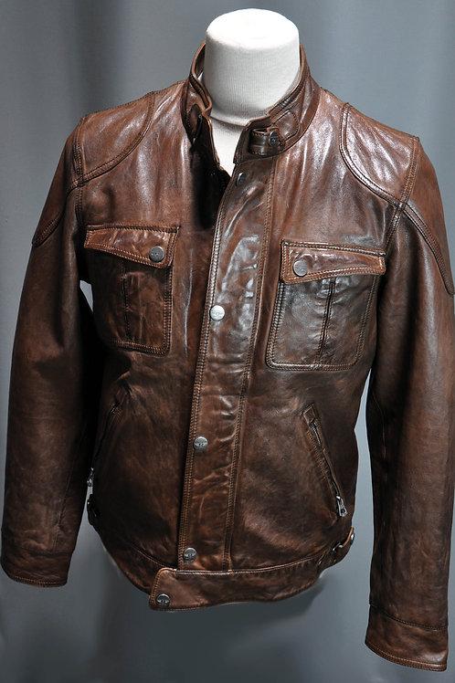 ALVIN LLAMB blouson cuir