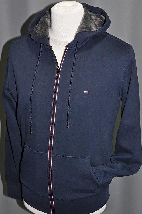 BASIC FUR LINED ZIP  veste doublée polaire capuche  MW11562CJM