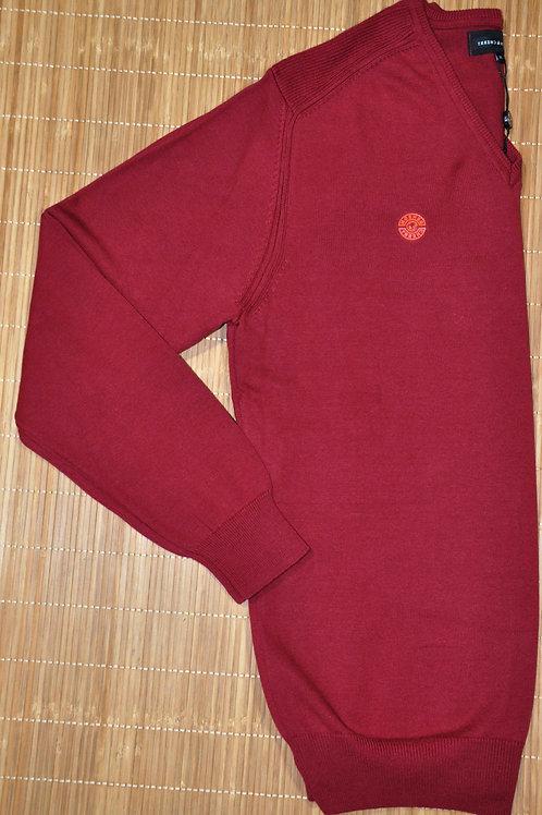FAVILIO pull col v acrylique coton