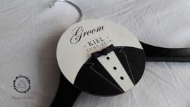 Groom's wedding hanger