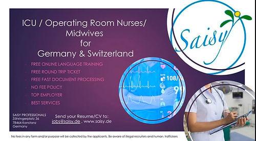 Philippinische Pflegekräfte