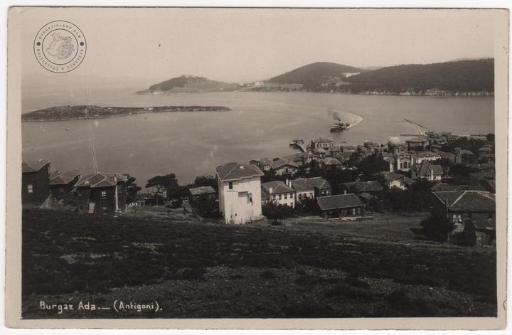 From the backside of Sarnıç Street, Spoon Island and Heybeli