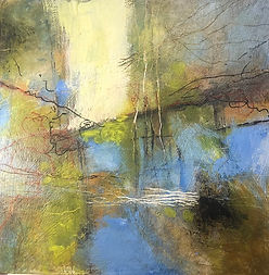 for web REFLECTIONS  #3 ACRYLIC 12%22X12