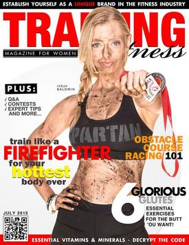 "Photography By: Mark Bradfield ""Training & Fitness Magazine"""