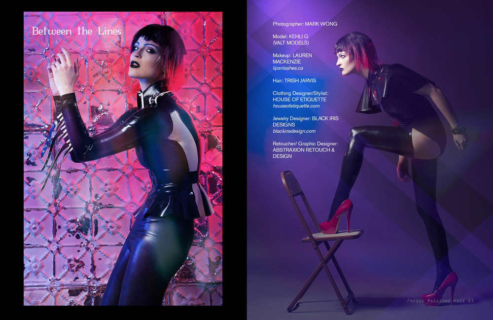 """Photography By: Mark Wong """"Freque Magazine"""" April 2014"""