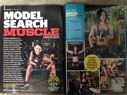 "Photography By: Mark Bradfield ""Muscle Insider Magazine"""