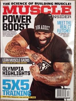 """Muscle Insider Magazine"""