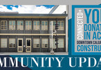 Community Update with pictures - IISC Downtown Masjid Construction & Renovations