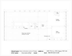 layout plan view 9001 7th ane SW