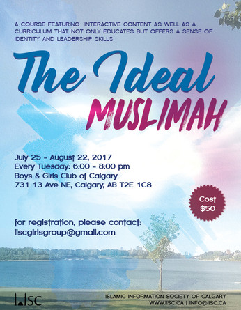 Sisters Youth Program - The Ideal Muslimah (Ages 13-17)