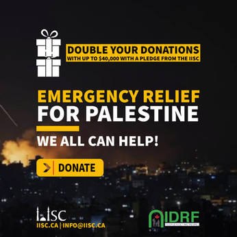 Double your donations: Palestine Emergency Relief - We all can help!