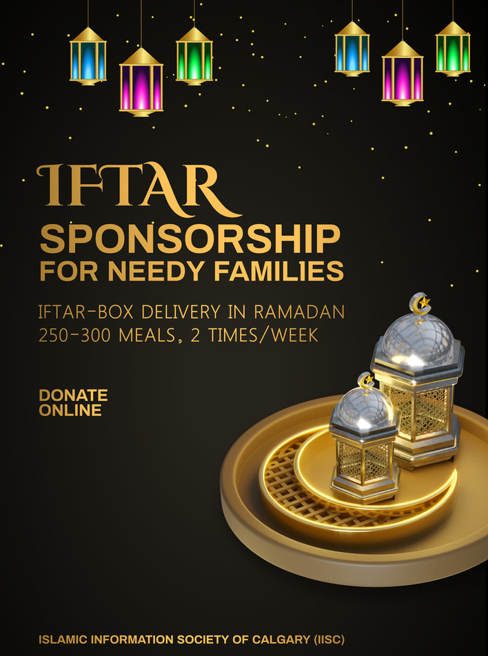 Iftar Sponsorship for needy families