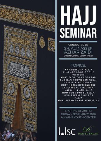 Hajj Seminar