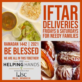 Iftar Sponsorship for needy families