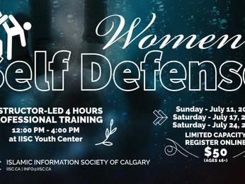 Women's Self-Defense Training (ages 16+)
