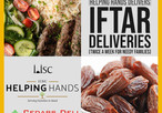 IISC Helping Hands Iftar Deliveries this Ramadan (twice a week for needy families)