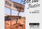 Awaking a sense of social justice: A picture and video memoir of my trip to Gambia