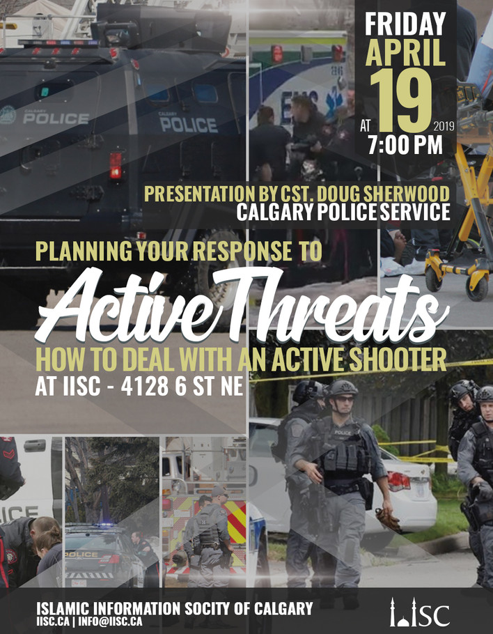 Presentation: Planning your response to Active Threat Situations - how to deal with an active shoote