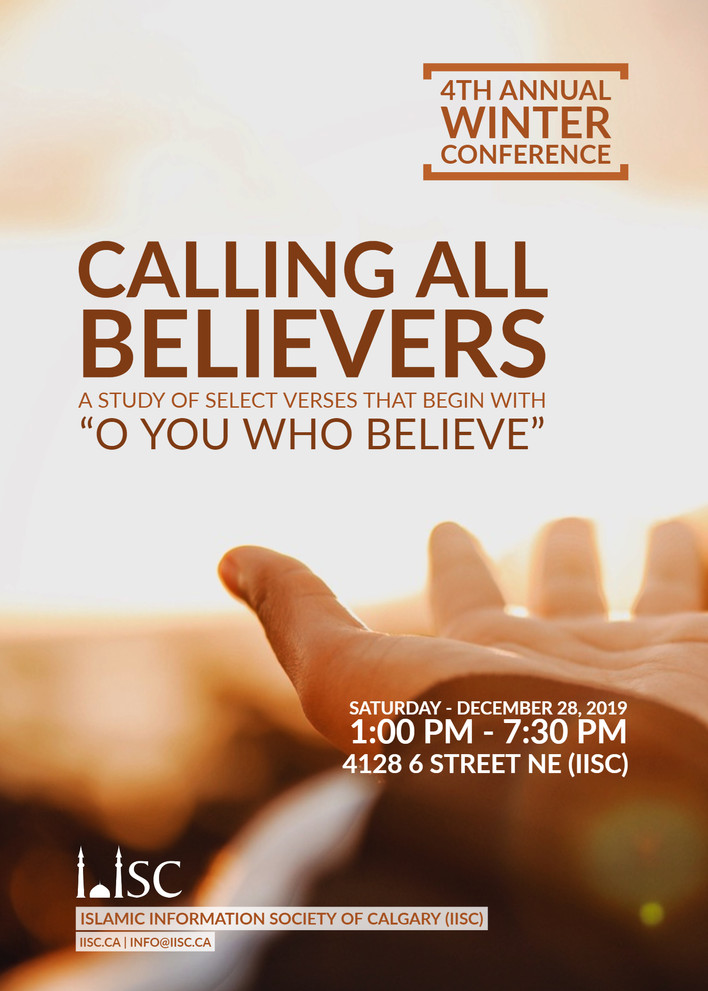 4th Annual Winter Conference - Calling all Believers