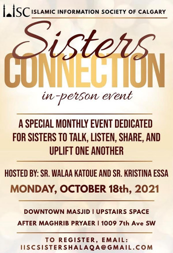 Sisters Connection: A special monthly event