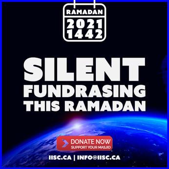 Silent Fundrasing this Ramadan