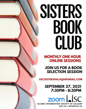 Sisters Book Club - monthly one hour (online)   Life with Tawaakul