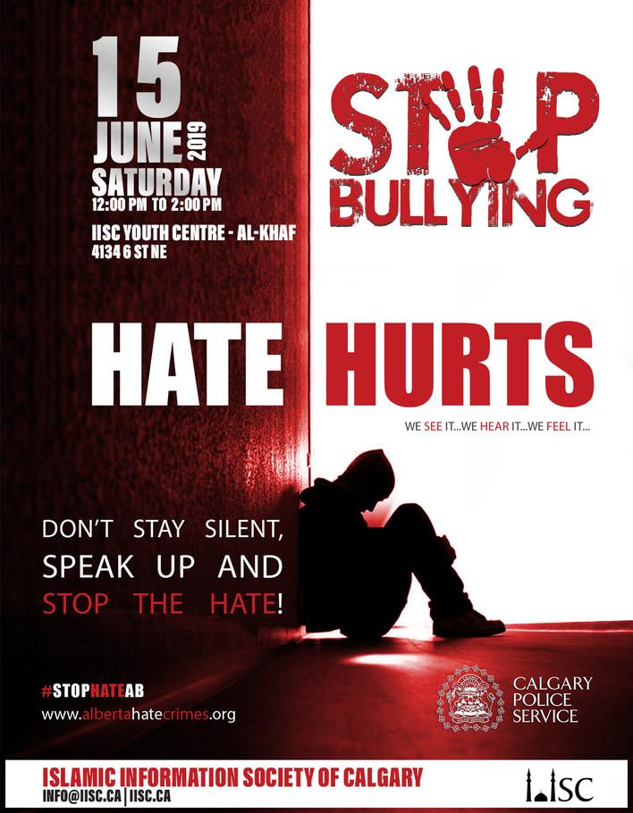 Stop Bullying - We see it, we hear it, we feel it
