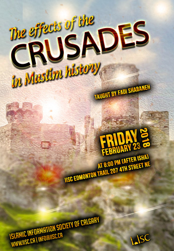 The effects of the crusades in Muslim history taught by Fadi Shabaneh