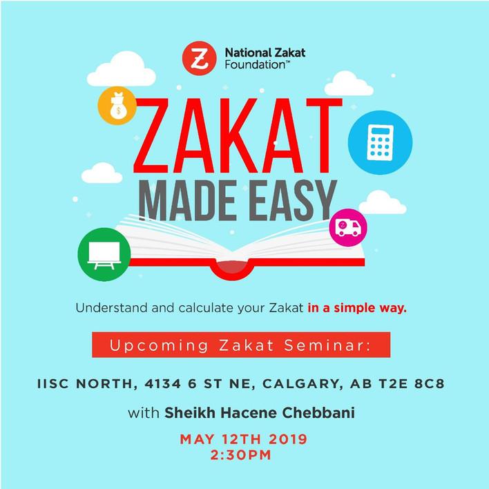 Zakat Made Easy - Seminar with Sh Hacene Chebbani