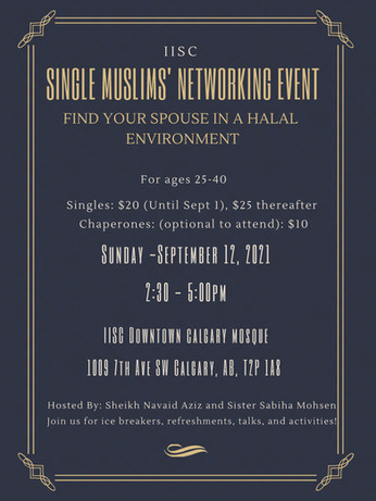 Single Muslims' Networking Event