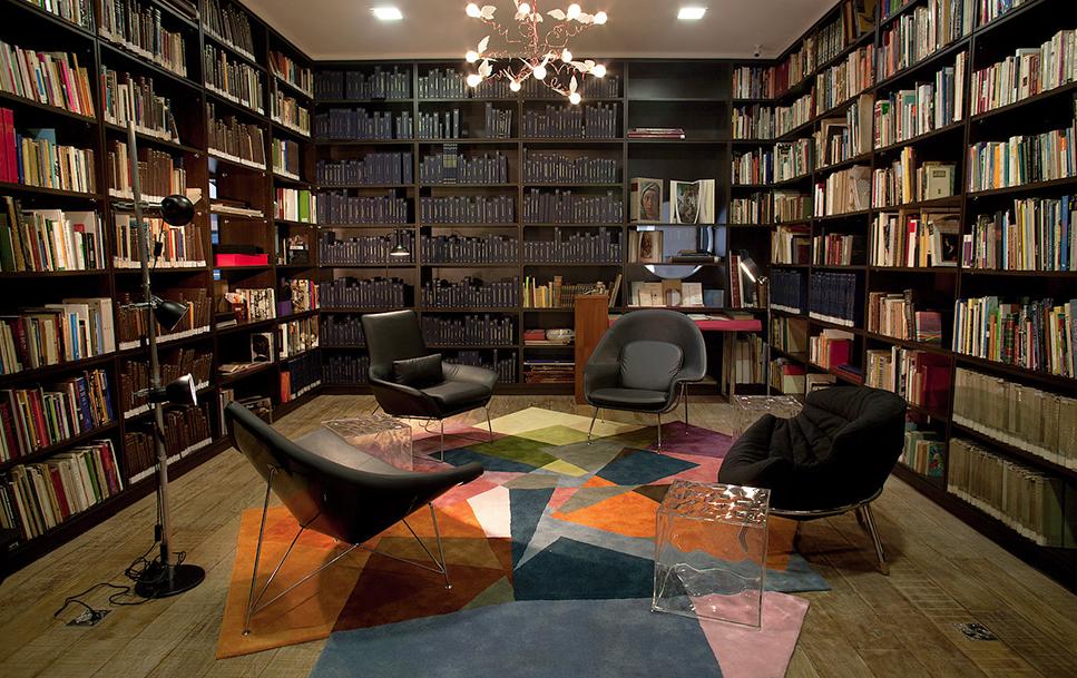 sala dos livros raros