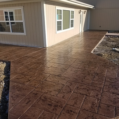 RESIDENTIAL PATIO STAMPING