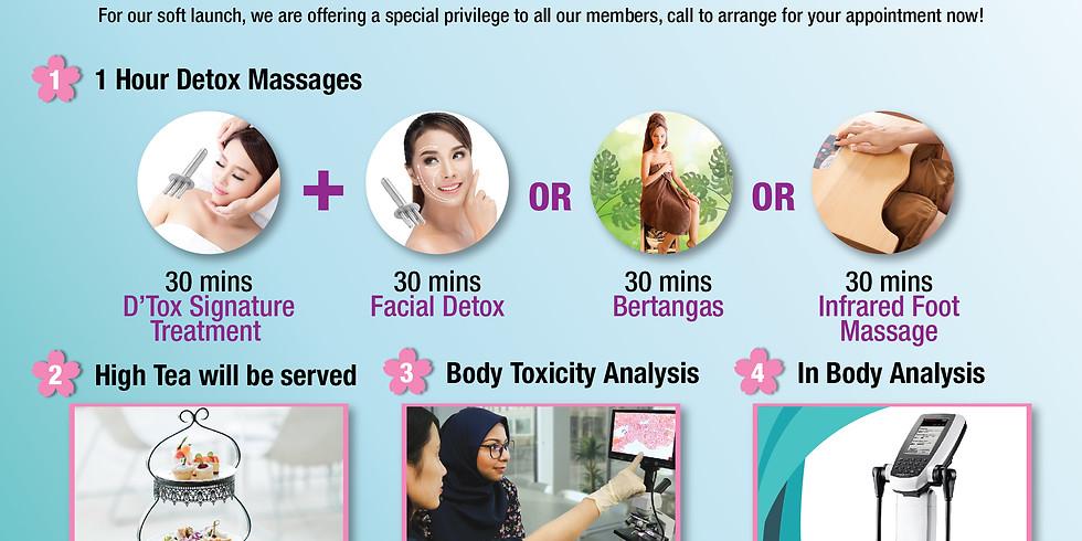 Wellness Detox Soft Launch