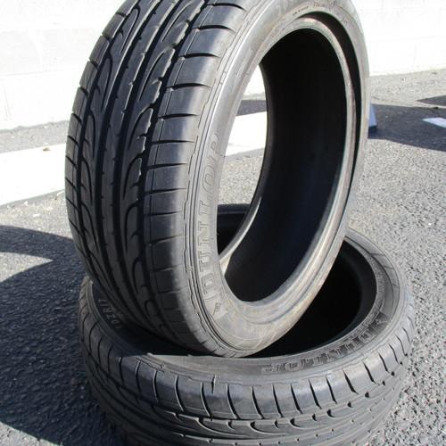 2 dunlop sp sport maxx tires