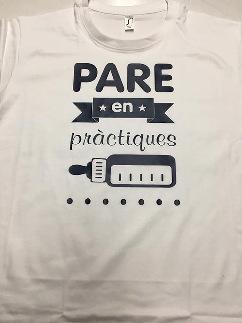 """Camiseta """"Padre en prácticas"""""""