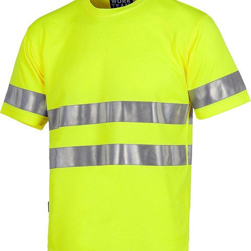 Camiseta manga corta alta visibilidad C3945