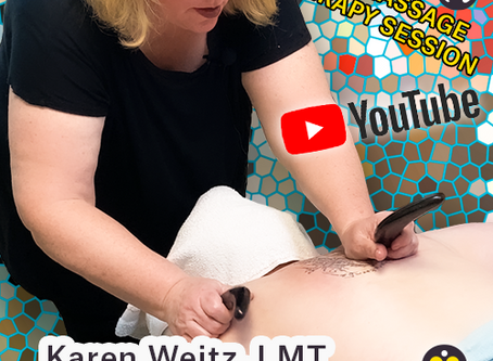 Complete Massage Therapy Session with Karen Weitz