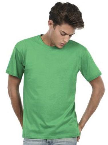 Camiseta básica manga corta de algodón