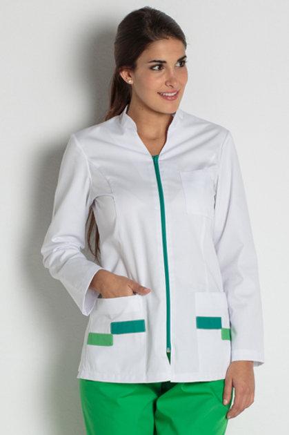 Jaqueta màniga llarga contrast