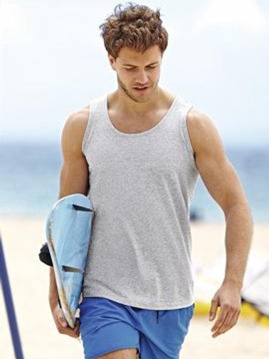 Camiseta sin mangas deporte
