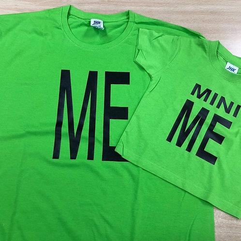 """Pack de 2 camisetas """"Me i Mini Me"""""""
