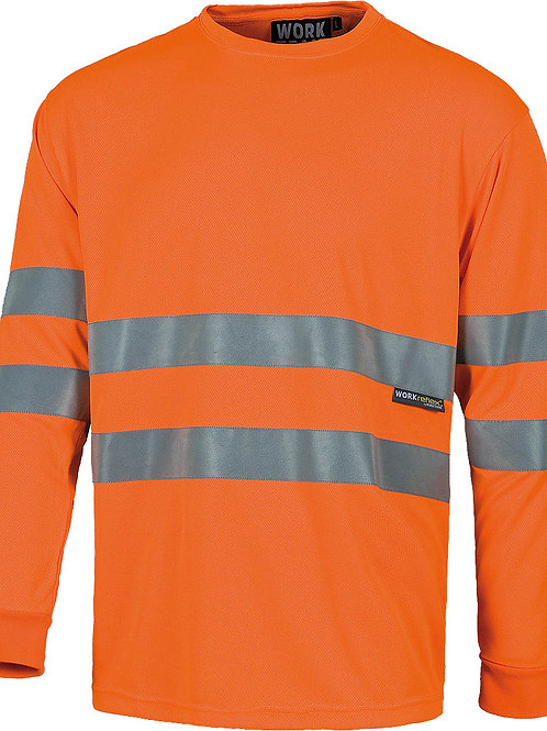 Camiseta manga larga alta visibilidad C3933