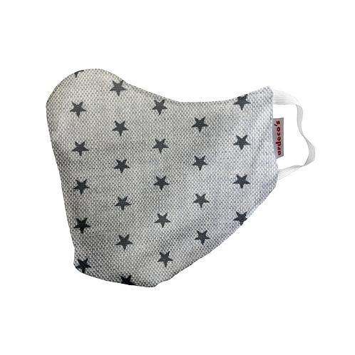 Mascarilla Estrellas grises