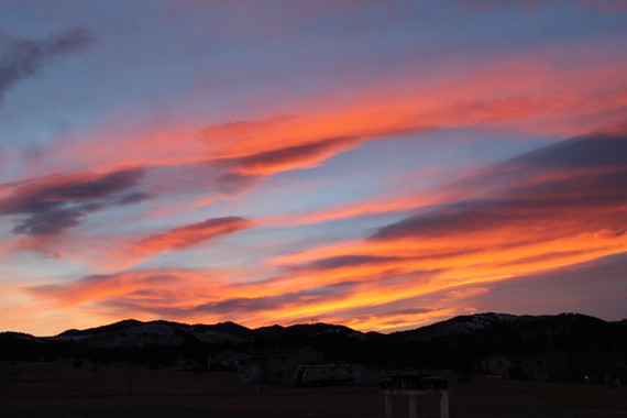Sunset at Eagle