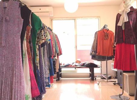 昭和レトロ洋品店SU-MIXのショールーム