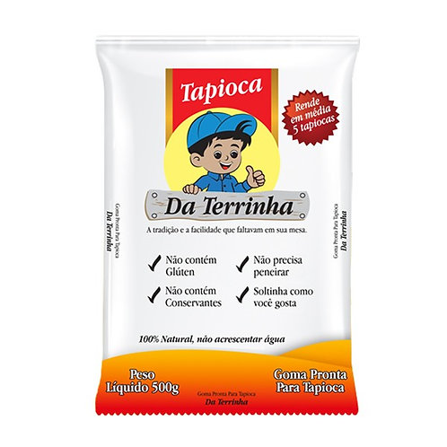 Tapioca tärkkelys 500g  Da Terrinha