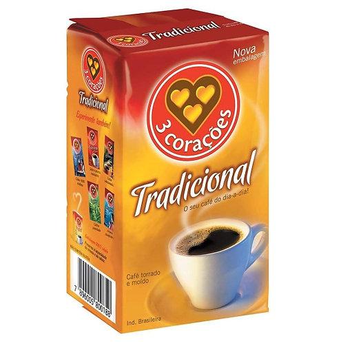 Kahvi Três Corações 250g