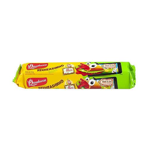 Biscoito Bauducco 112g Recheadinho Goiaba